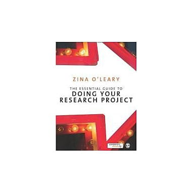 The Essential Guide to Doing Your Research Project, New Book (9781848600119)