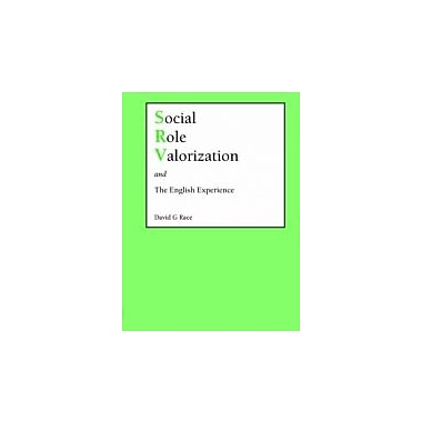 Social Role Valorization and the English Experience, New Book (9781861770271)