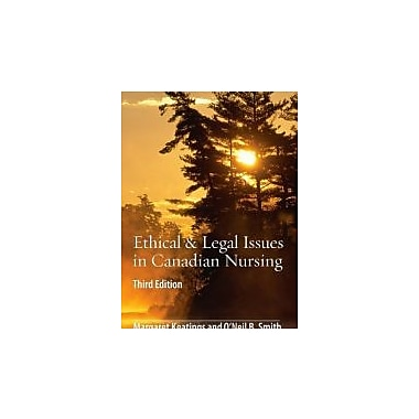 Ethical & Legal Issues in Canadian Nursing, 3e, New Book (9781897422090)