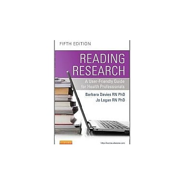 Reading Research: A User-Friendly Guide for Health Professionals, 5e, New Book (9781926648385)