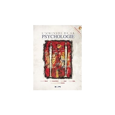 l'univers de la psychologie, New Book (9782761324229)