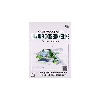 INTRODUCTION TO HUMAN FACTORS ENGINEERING, AN, 2ND ED., New Book (9788120343719)