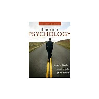 Abnormal Psychology 14th (fourteenth) Edition, Used Book (978B006O0HZ20)