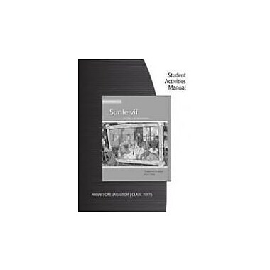 Workbook with Student Activities Manual for Jarausch/Tufts' Sur le vif 5th (fifth) Edition, Used Book (978B006UJY884)