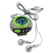 Homedics Deluxe Pedometer with FM Radio
