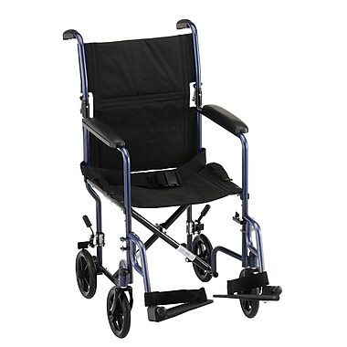 Nova Medical Products Steel Transport Chair 19