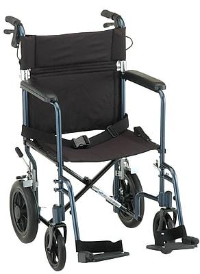 Nova Medical Products Aluminum Lightweight Transport Chair 19