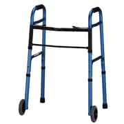 "Nova Medical Products Aluminum Folding Walker 32"" - 38"" x 23"""