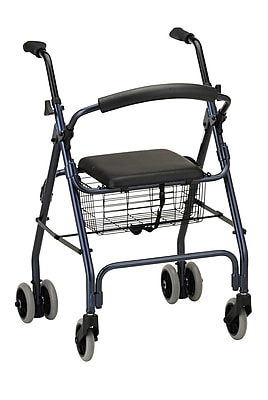 Nova Medical Products Cruiser Classic Rolling Walker, Blue
