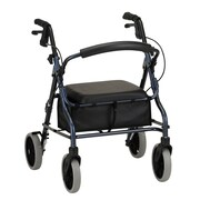 Nova Medical Products Rolling Walker - large padded seat
