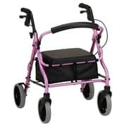 Nova Medical Products Rolling Walker, Pink