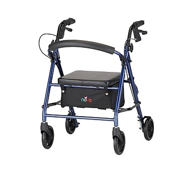 Nova Medical Products Petite Rolling Walker, Blue