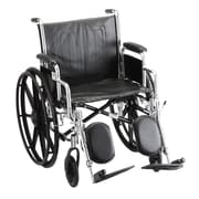 Nova Medical Products Steel Wheelchair 20""