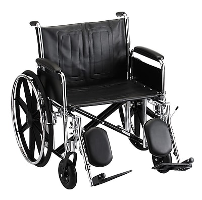 Nova Medical Products Steel Wheelchair Detachable 24