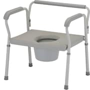 "Nova Medical Products Steel Bariatric Commode 27.5"" x 26.5"""