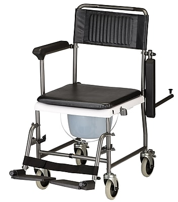 Nova Medical Products Shower Transport Chair Commode 37.25