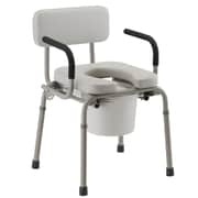 "Nova Medical Products Drop-Arm Commode 23.03"" x 19.49"""