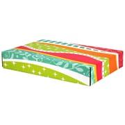 "12.2""(L)x 3""(W)x17.8""(H) GPP Gift Shipping Box, Classic Line, Funky Pattern, 6/Pack"