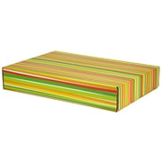 GPP Gift Shipping Box, Classic Line, Bright Stripes