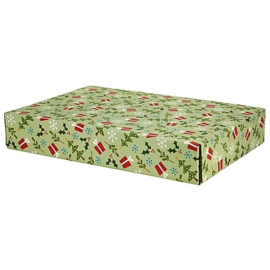 GPP Gift Shipping Box, Holiday Line, Gifts and Trees