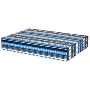 "12.2""(L)x 3""(W)x17.8""(H) GPP Gift Shipping Box, Lisa Line, Nordic Blue, 6/Pack"