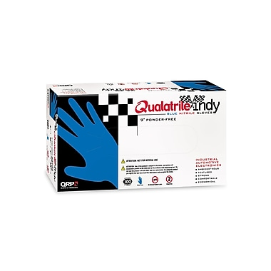 QRP 5ml Disposable Nitrile Gloves, 9 Inch, Large