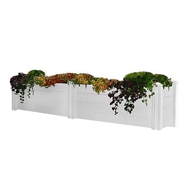 New England Arbors Planter Box; 25.2'' H x 134'' W x 15'' D