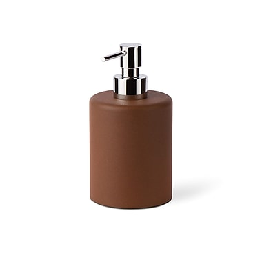 WS Bath Collections Saon Liquid Soap Dispenser; Brown