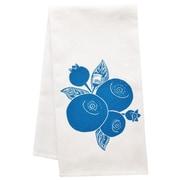 Artgoodies Organic Block Print Blueberry Towel