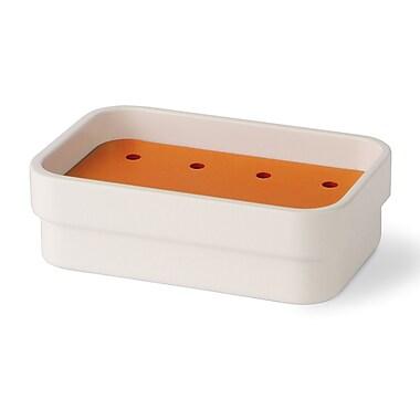 WS Bath Collections Curva Soap Dish; Orange