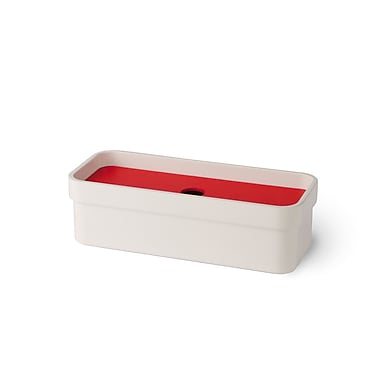 WS Bath Collections Curva Soap Dish; Red