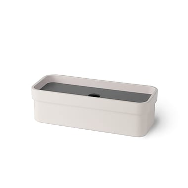 WS Bath Collections Curva Soap Dish; Dark Grey