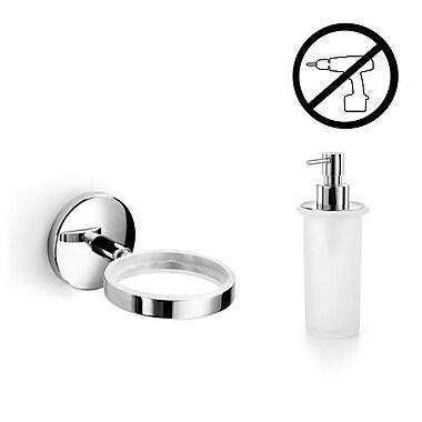 WS Bath Collections Spritz Self-Adhesive Soap Dispenser