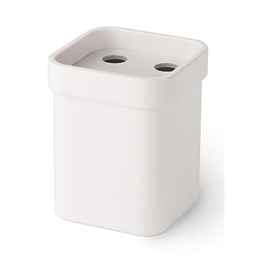 WS Bath Collections Curva Toothbrush Holder; White