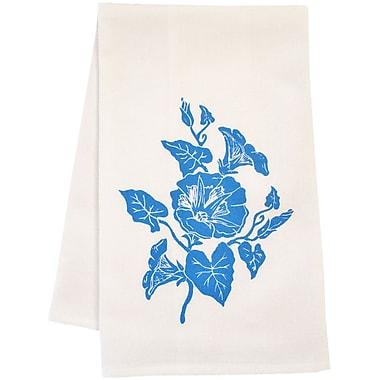 Artgoodies Organic Block Print Morning Glory Towel