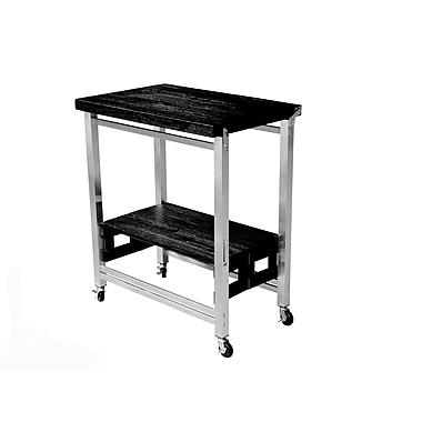 Oasis Concepts Kitchen Cart; Espresso