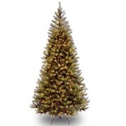 National Tree Co. Aspen Spruce 7.5' Hinged Artificial Christmas Tree w/ 450 Clear Lights