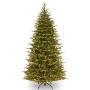 National Tree Co. Nordic 7.5' Green Spruce Artificial Christmas Tree w/ 750 Clear Lights and Stand