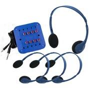 Hamilton Buhl Kids Listening Center w/ 4 Personal Headphone and Jackbox