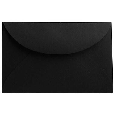 JAM PaperMD – Enveloppes, noir translucide, 3drug, 2,31 x 3,62 po, 100/paquet