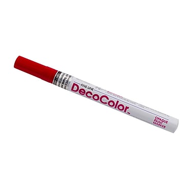 JAM Paper® Fine Point Opaque Paint Marker, Red, Sold Individually (7665906)