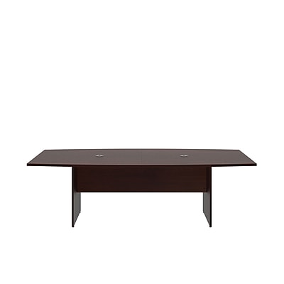 Bush Business 96'' Boat Conference Table, Harvest Cherry (99TB9642CSK)
