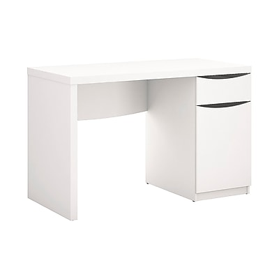 Bush Furniture Montrese Computer Desk, Pure White (MY72117-03)