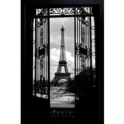 "Diamond Decor ""Eiffel Tower"" Framed Poster"