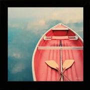 """Diamond Decor """"Floating Away"""" Framed Art Print Poster"""