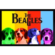 "Diamond Decor ""The Beagles"" Framed Poster"