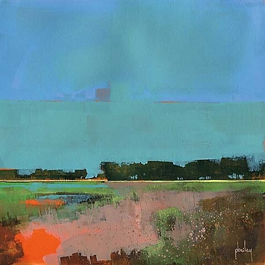 Printfinders Empty Sky by Paul Bailey Painting Print on Canvas; 30'' x 30''
