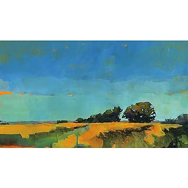 Printfinders Oblique Illumination by Paul Bailey Painting Print on Canvas; 24'' x 42''