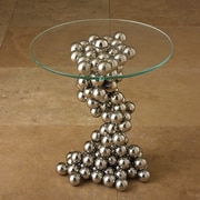 Global Views Sphere End Table