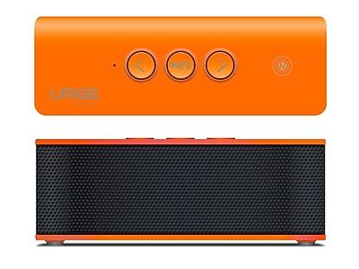 SoundBrick Plus Portable Bluetooth Stereo Speaker, Orange